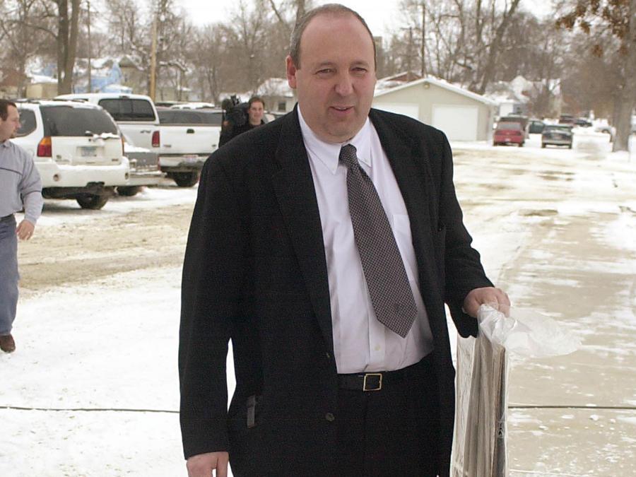 El doctor Wilson Asfora, en una foto de archivo de 2003.