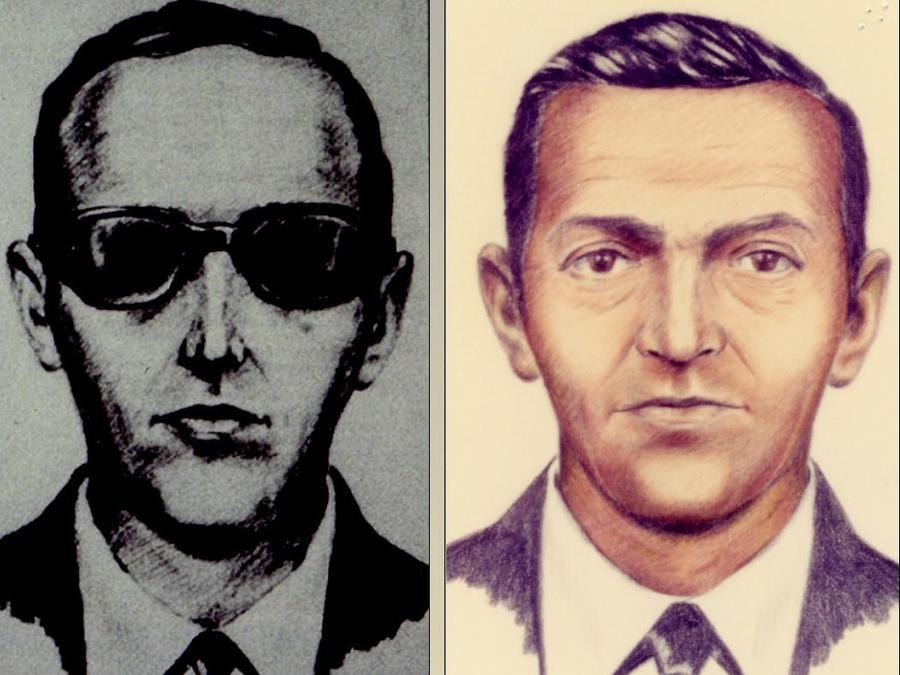 Retrato del sospechoso difundido por el FBI.
