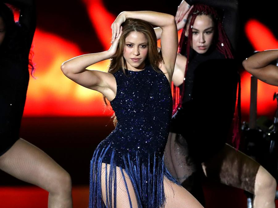 Shakira at David Cup finals
