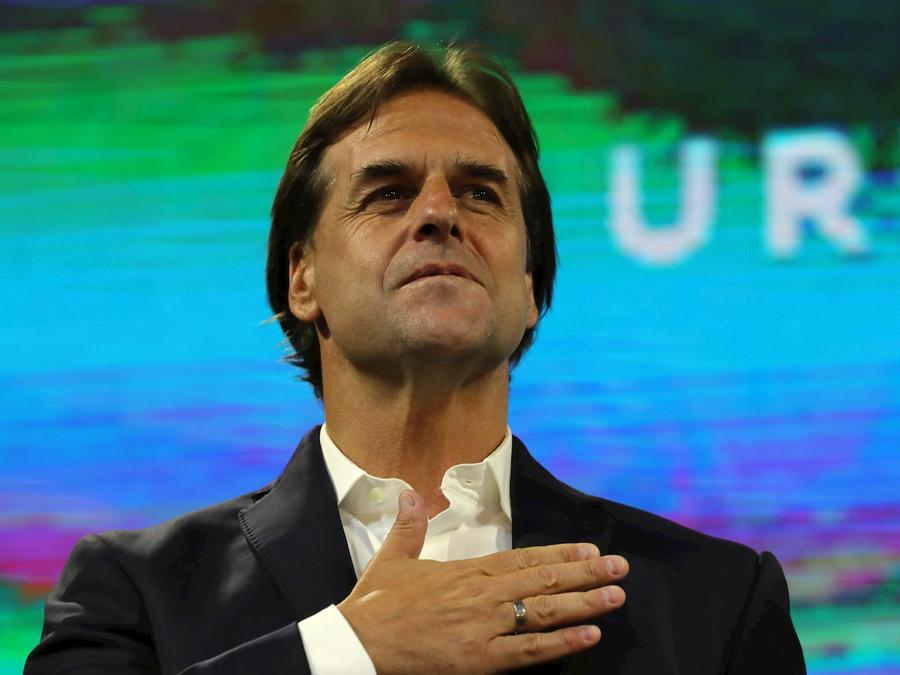 Luis Lacalle Pou, el próximo presidente de Uruguay, en una foto de archivo.