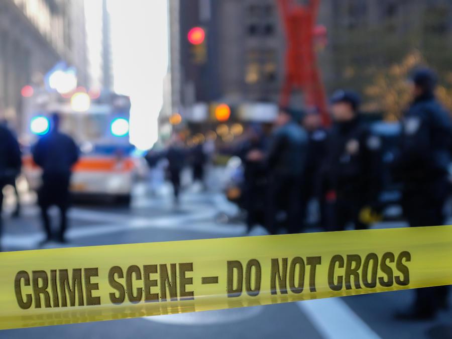 Escena de un crimen.