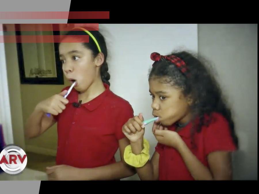 Bacterias en cepillos de dientes