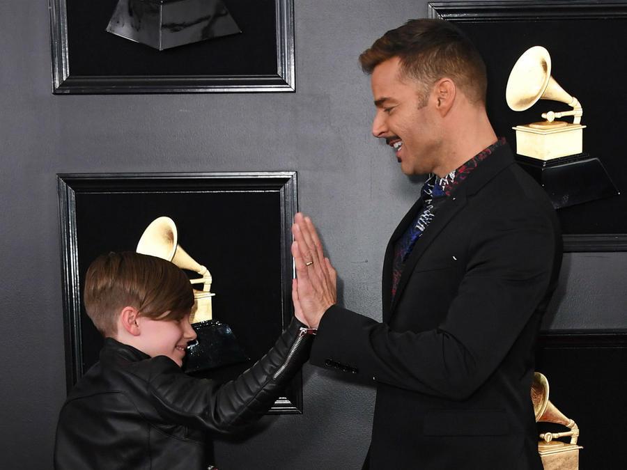 Ricky Martin e hijo