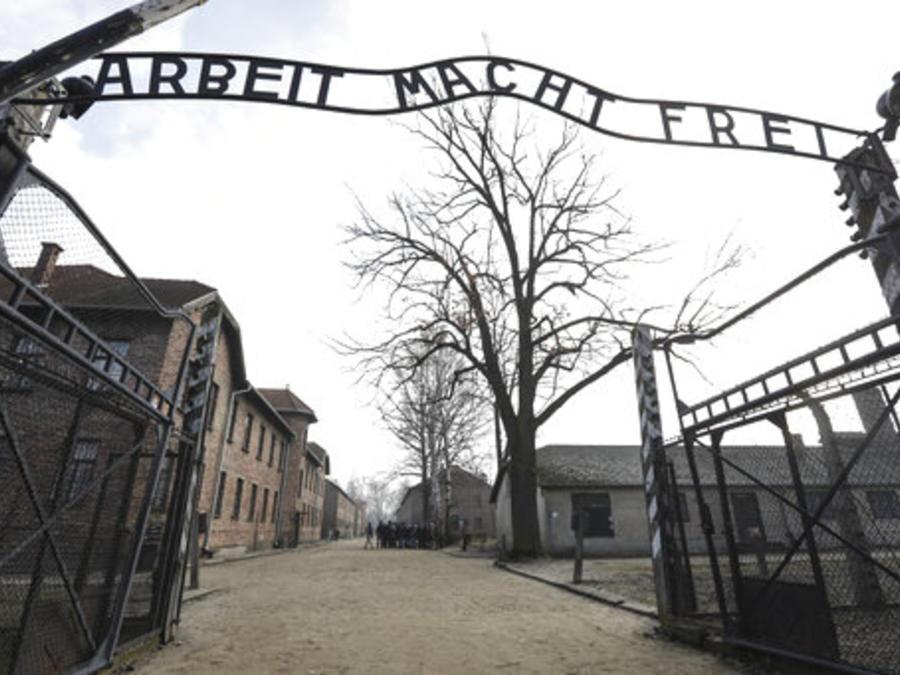 El campo de concentración nazi Auschwitz-Birkenau en Oswiecim, Polonia,  el viernes 15 de febrero de 2019.