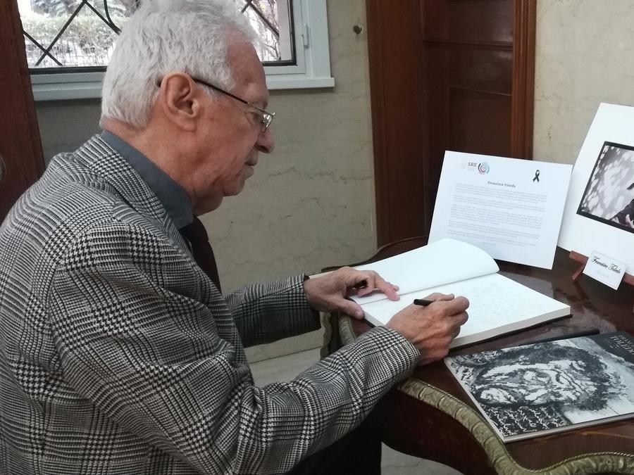 Óscar Ricardo Valero Recio Becerra, embajador de México en Argentina.