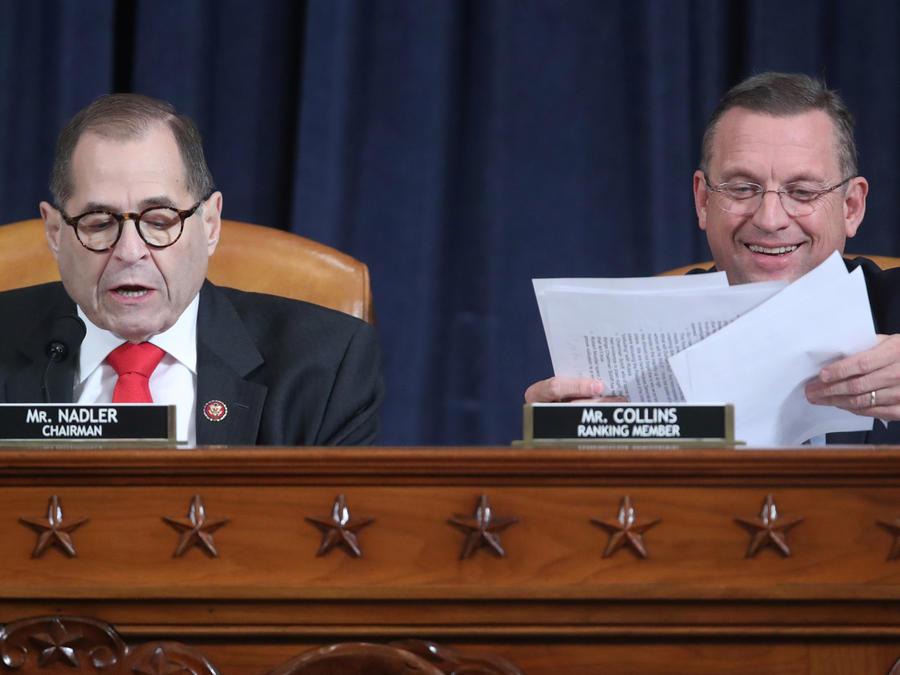 Comité Judicial de la Cámara de Representantes presentó cargos para seguir adelante con juicio político a Trump.