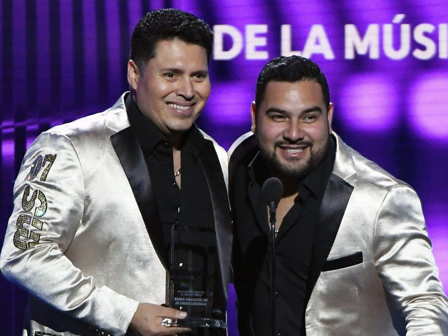 Banda MS at the Billboard Latin Music Awards