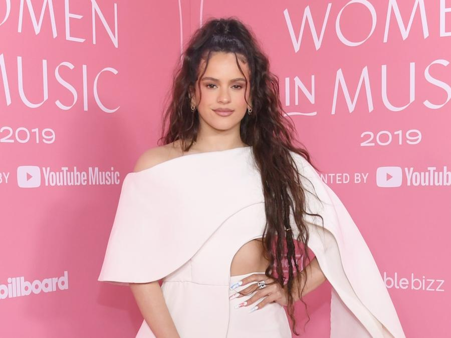 Rosalia at the Billboard Women in Music 2019 event