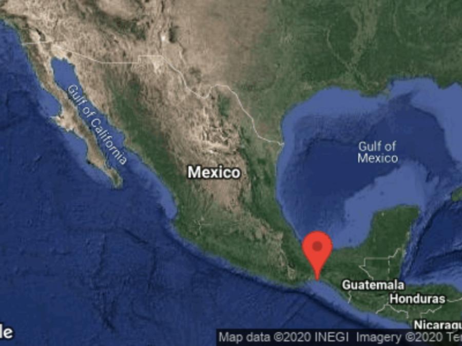 Sismo sur de México