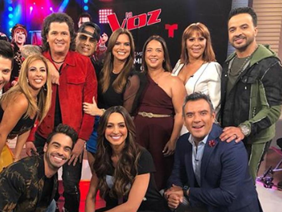 """Alejandra Guzmán, Wisin, Luis Fonsi y Carlos Vives en el programa """"Un nuevo día"""""""