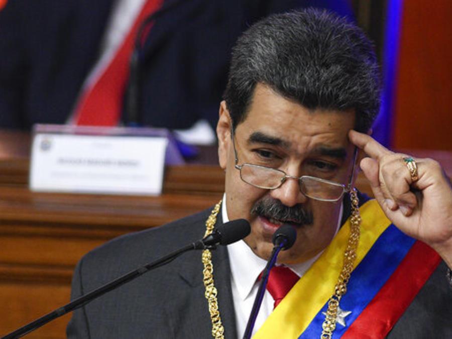 Nicolás Maduro, en una imagen del pasado martes.