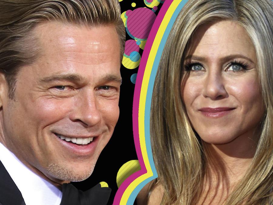 Brad Pitt y el recuentro con Jennifer Aniston