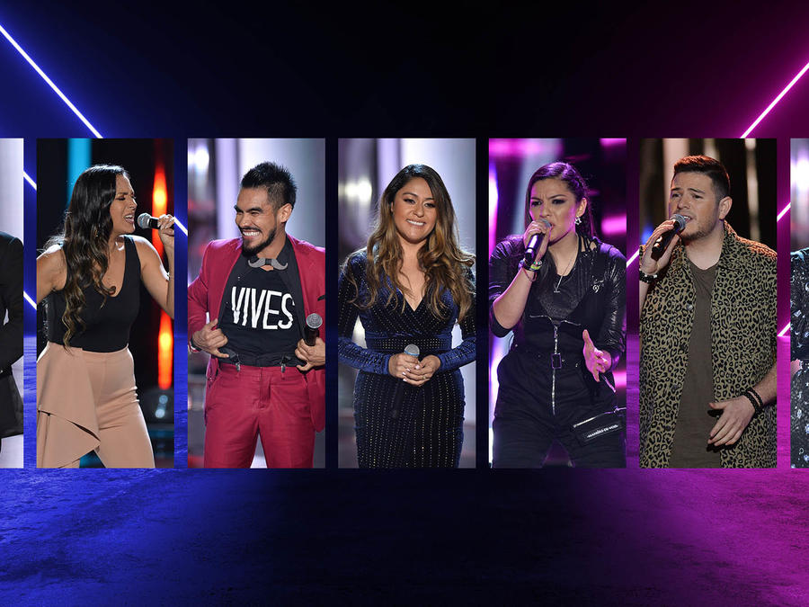 Los primeros participantes de La Voz US 2