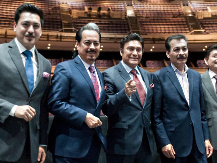 Los Tigres del Norte en conferencia de prensa