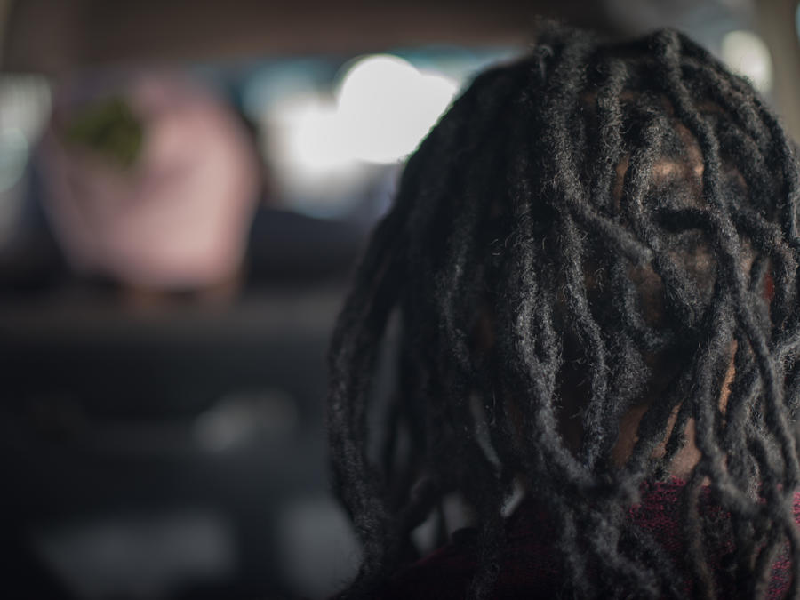 Close-Up Of Person With Dreadlocks