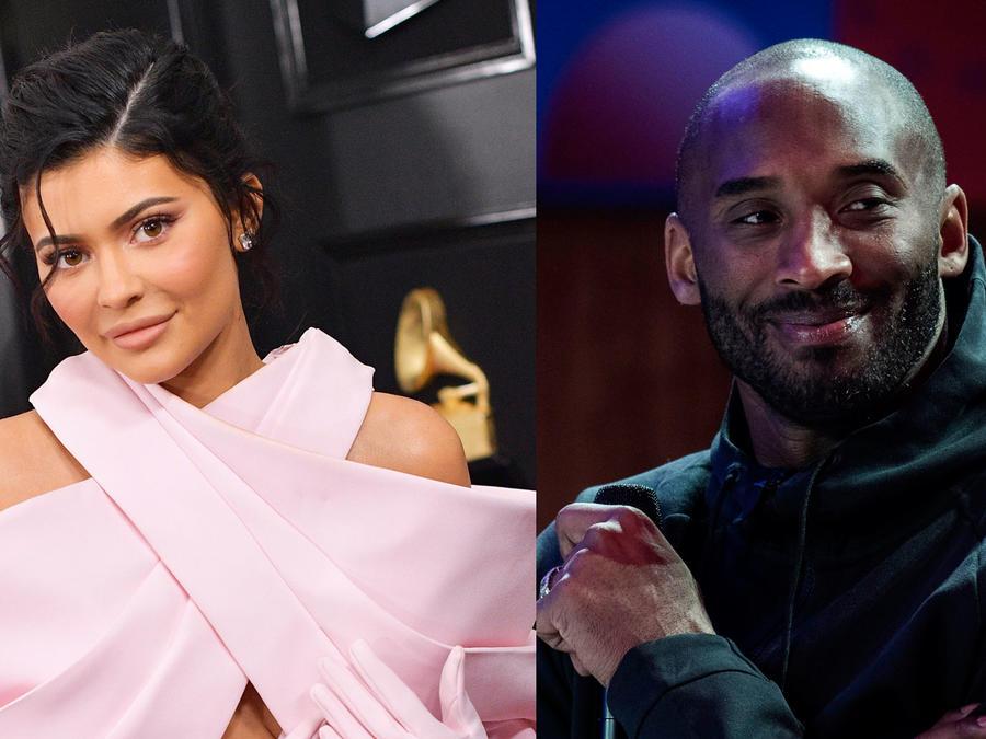 Kylie Jenner y Kobe Bryant