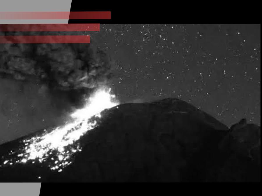 OVNI en el Popocatépetl