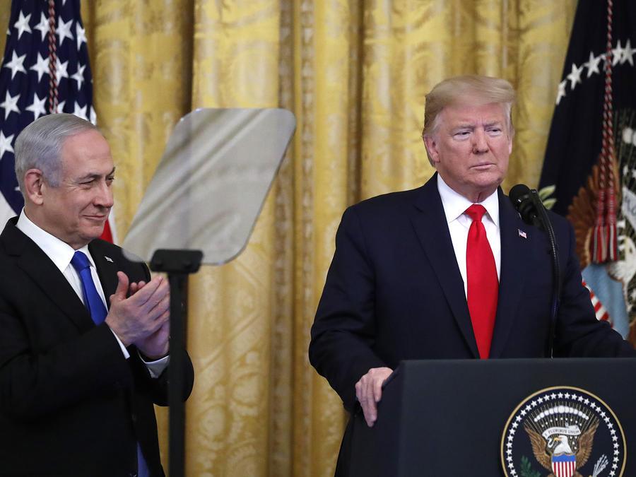 El presidente Donald Trump anunció su plan junto al primer ministro israelí Benjamin Netanyahu, en la Casa Blanca.
