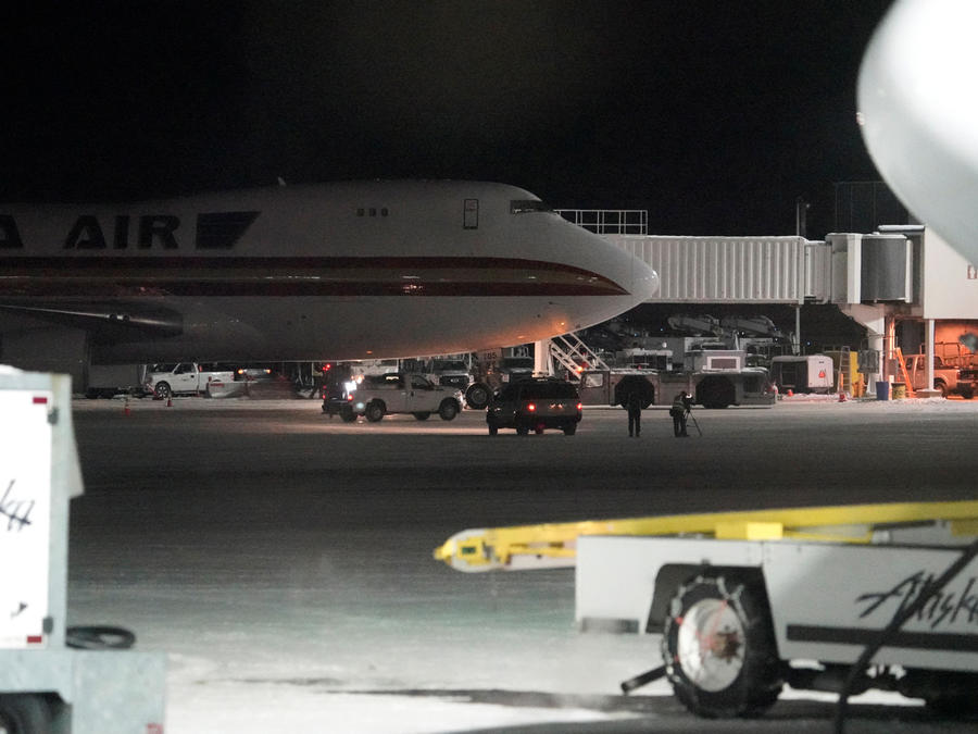 Avión con 201 evacuados de EEUU por coronavirus procedente de China.