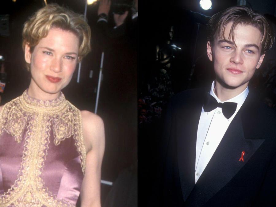Renée Zellweger, Oscars 1999; Leonardo DiCaprio, Oscars 1994