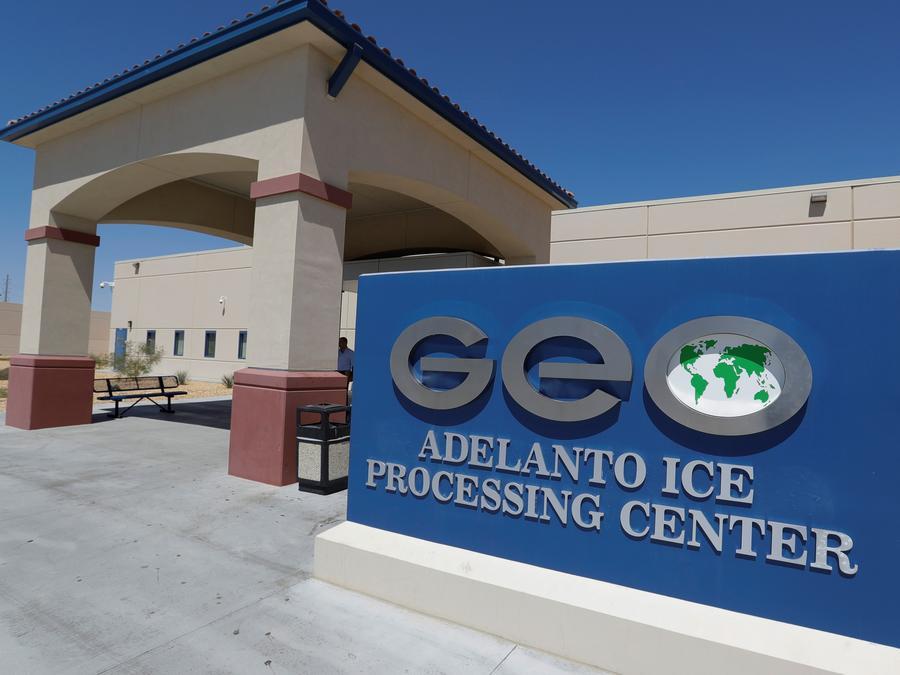 Centro de Detención de Adelanto, California