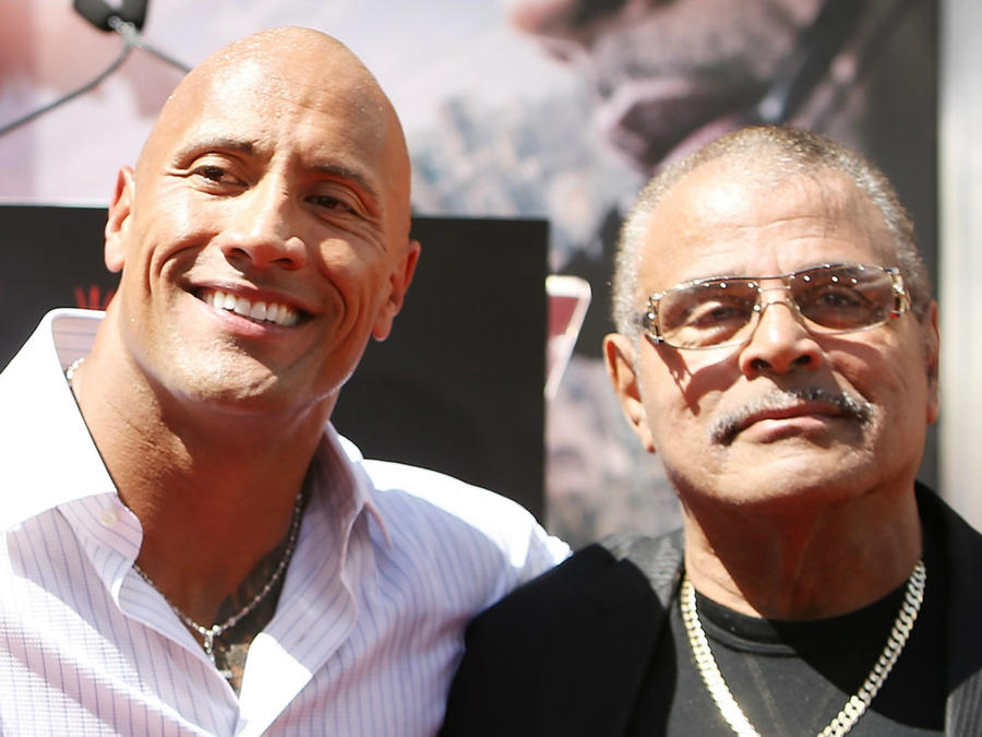 "Dwayne ""The Rock"" Johnson lost his father earlier this year."