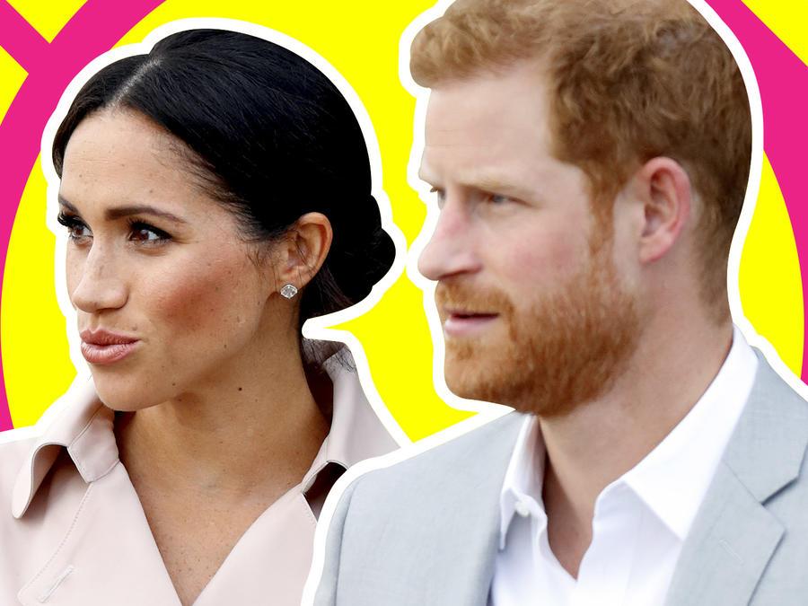 Meghan Markle y el príncipe Harry empleados