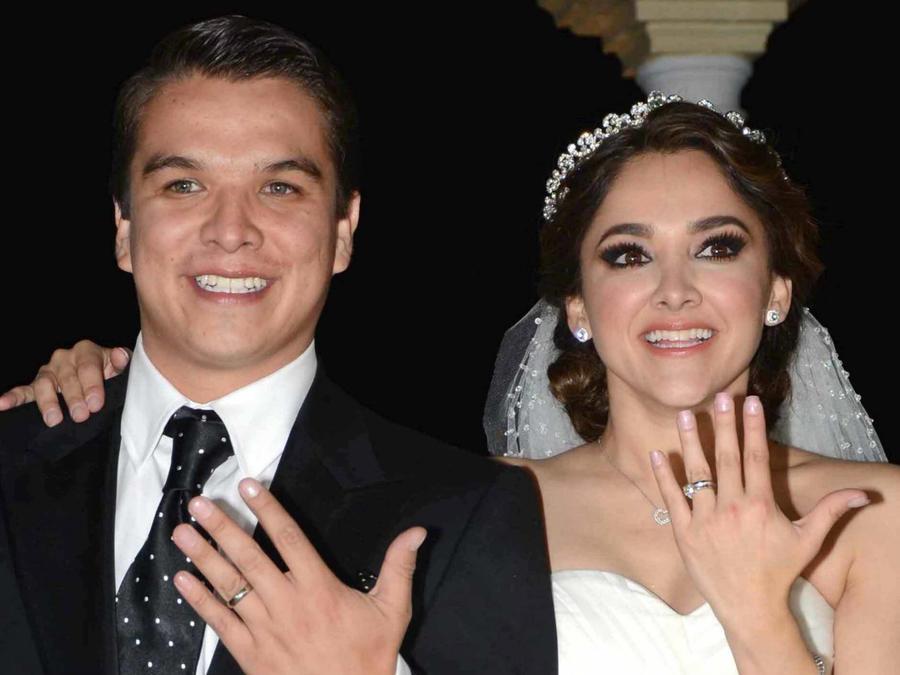 La actriz Sherlyn y su ex esposo, Gerardo Islas.