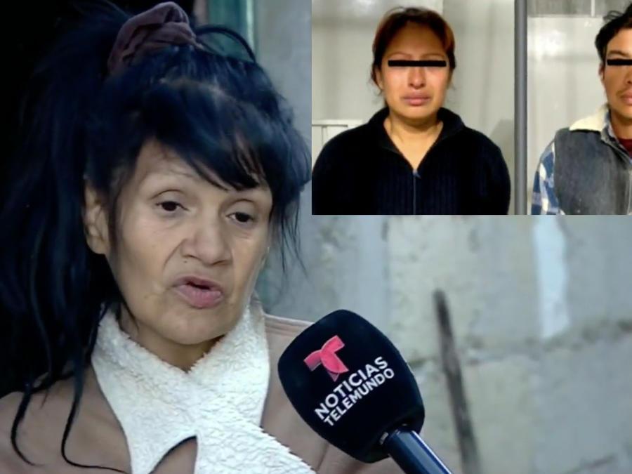 Tía de la niña Fátima y los presuntos asesinos de la menor