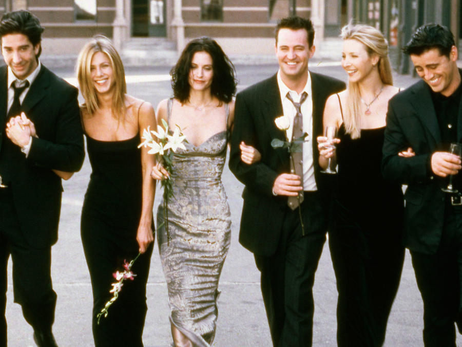 "Elenco de ""Friends"" en la sexta temporada"