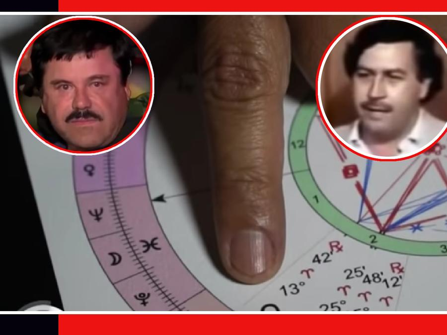 Chapo Guzmán Pablo Escobar destino astros