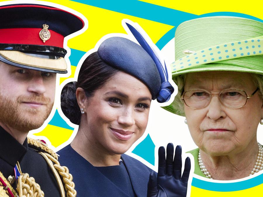 Duques Sussex responde a la reina isabel II