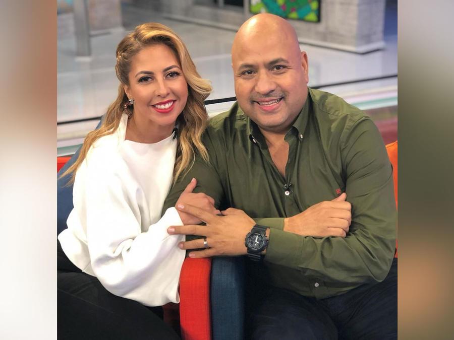 Chiquibaby y su esposo