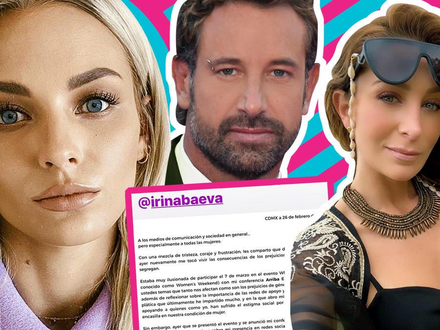 Irina Beva cancelación conferencia