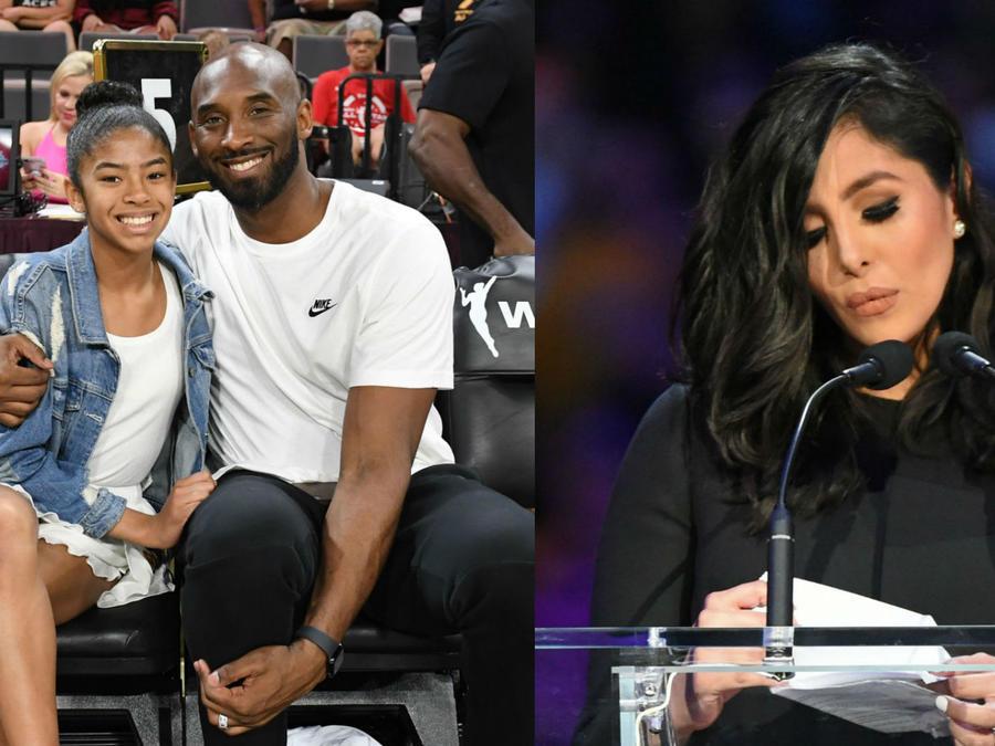Kobe Bryant, Gianna y Vanessa
