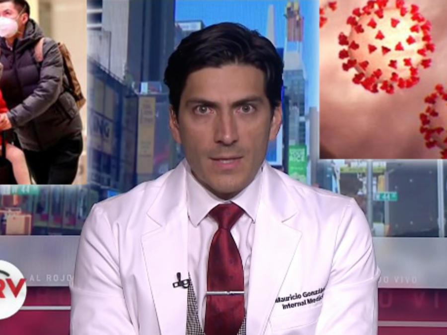El Dr. Mauricio González
