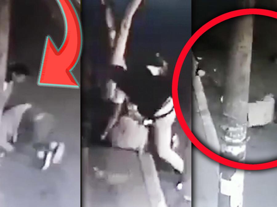 Mujer golpeada Iztapalapa