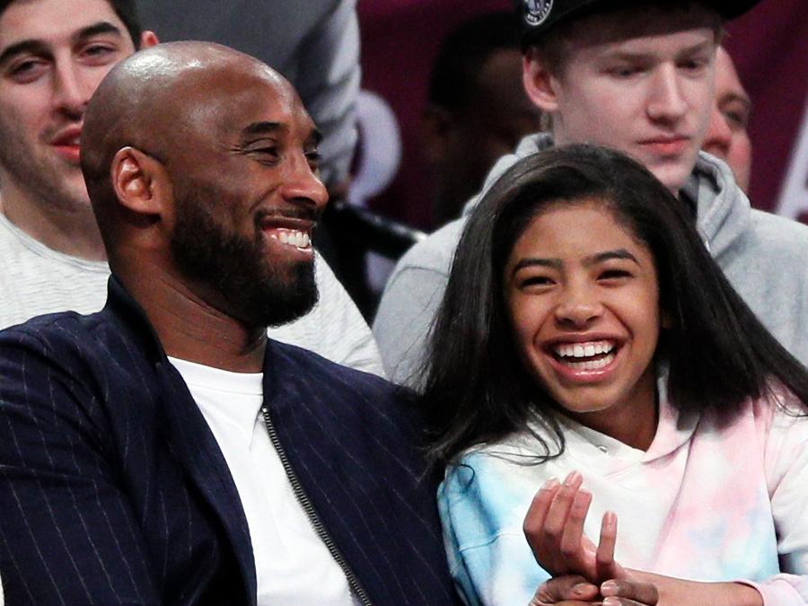 Kobe Bryant y Gigi