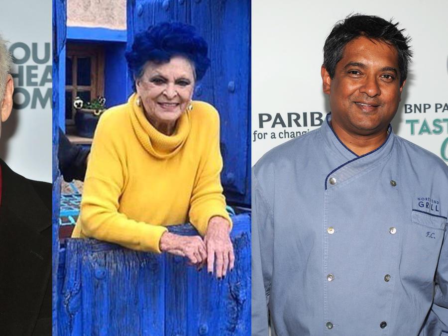Mark Blum, Lucía Bosé, Chef Floyd Cardoz