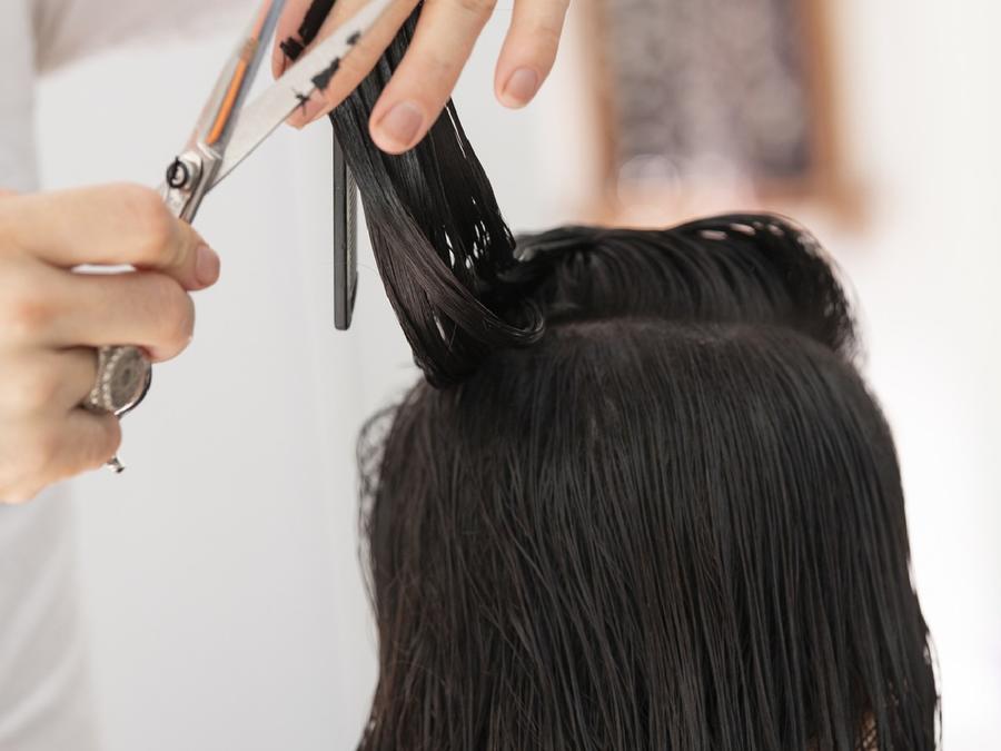 Corte cabello cuarentena
