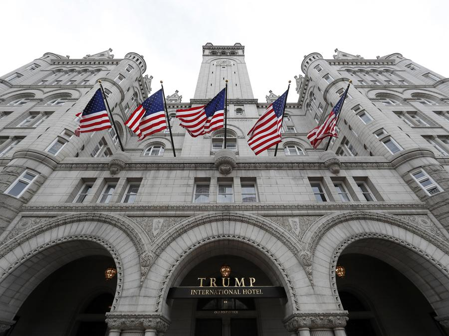 El Trump International Hotel en Washington.