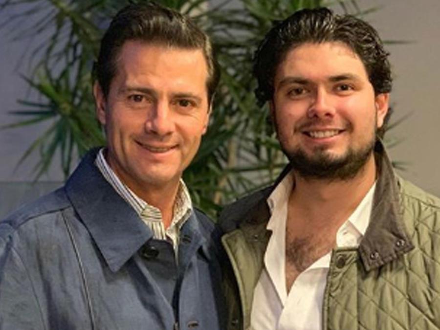 Alejandro Peña, hijo de Enrique Peña Nieto