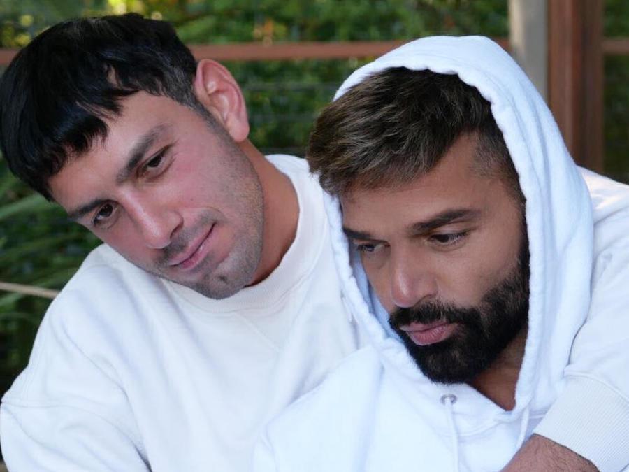 Ricky Martin y su esposo Jwan Yosef