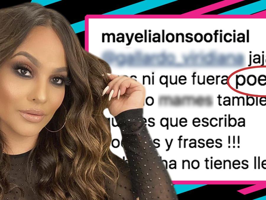 Mayeli Alonso criticas frases