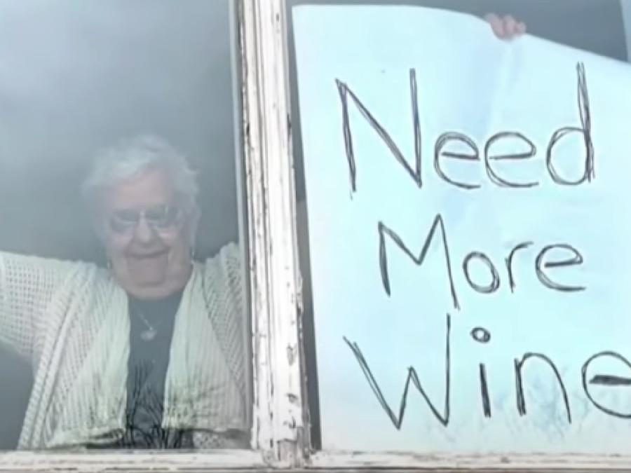 Abuelita vino