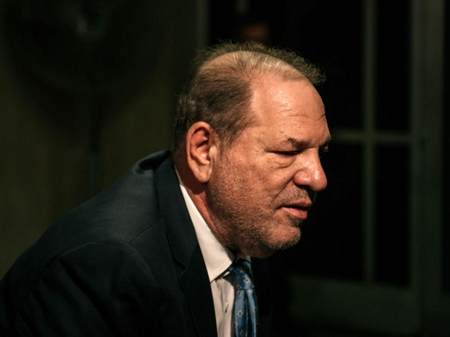 El productor de cine Harvey Weinstein.