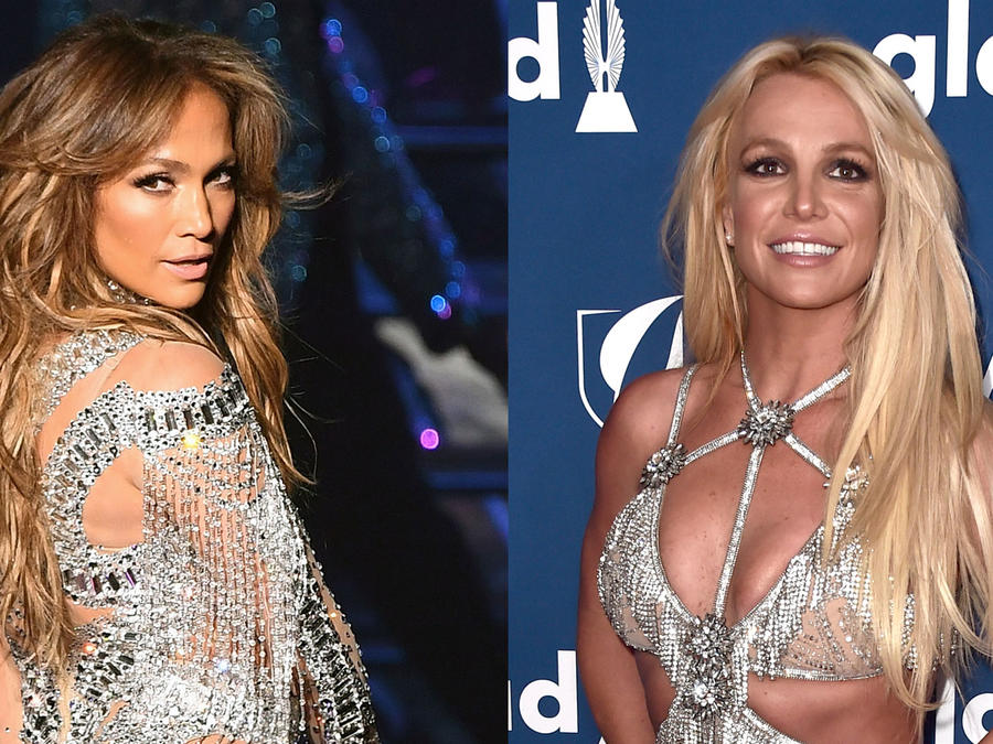 Jennifer Lopez y Britney Spears