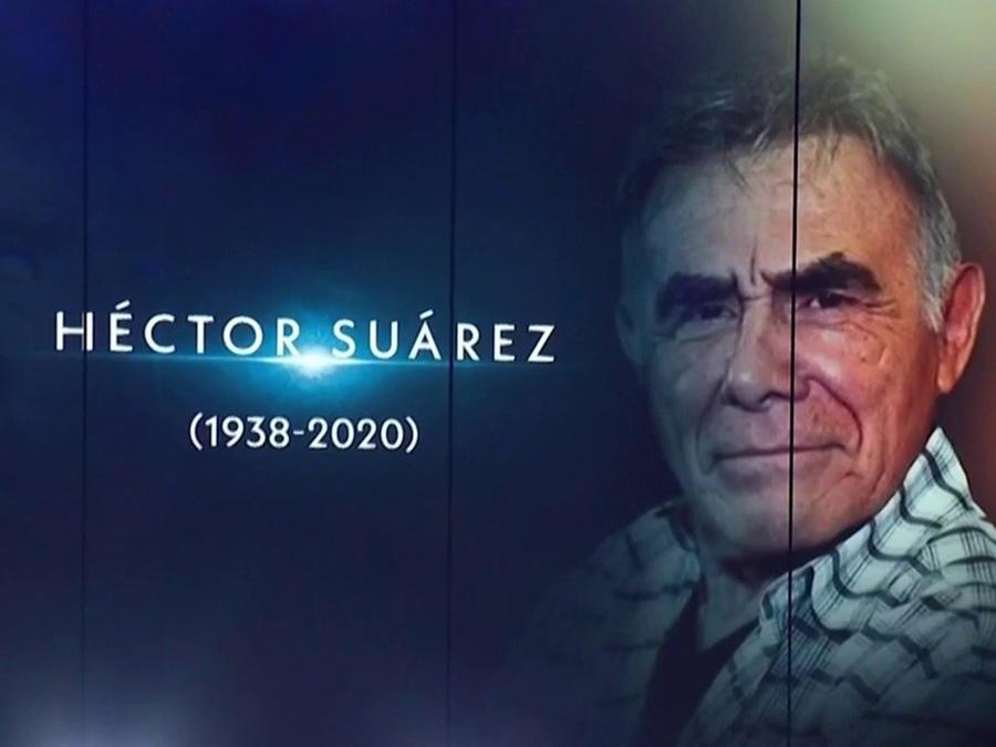 Héctor Suárez muerte