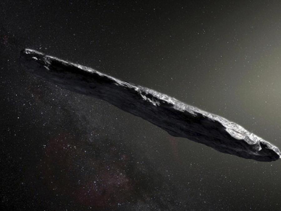 Objeto espacial Oumuamua