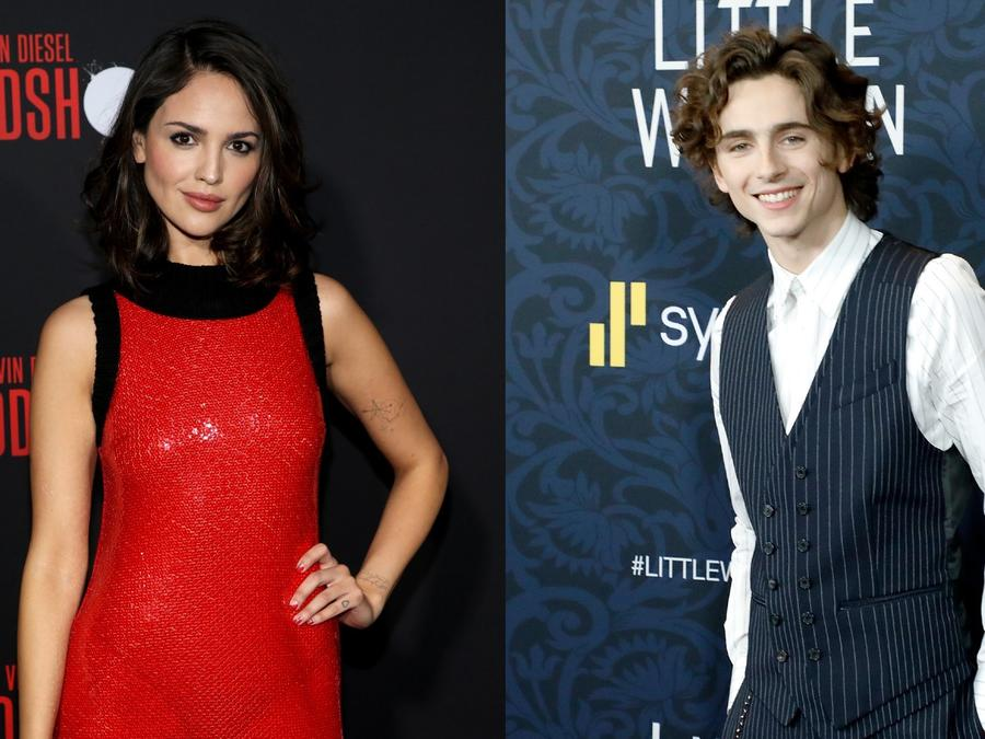 Everything You Need To Know About Eiza Gonzalez and Timotheé Chalamet